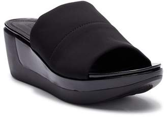 Kenneth Cole New York Pepea Slide Wedge Platform Sandal