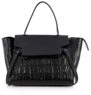 Celine Pre-owned: Belt Bag Crocodile Embossed Leather Medium.