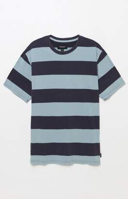 Brixton Corwin Washed Striped T-Shirt