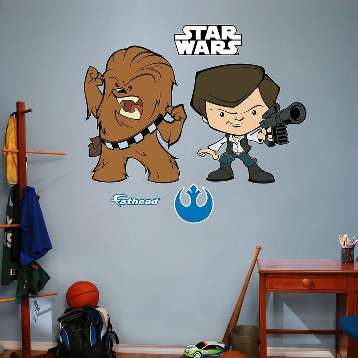 Fathead Star Wars Han Solo & Chewbacca Pop! Wall Decal by Fathead
