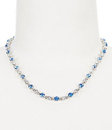 Carolee Carolee Something Blue Collar Necklace