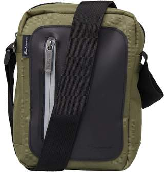 Ben Sherman Panel Small Items Bag Khaki Black df388946d89e9