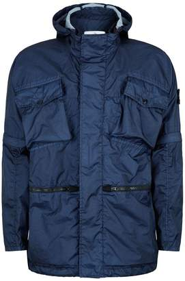 Stone Island Adjustable Hooded Jacket