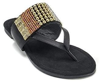 Muk Luks Women's Iris Beaded Dress Sandal