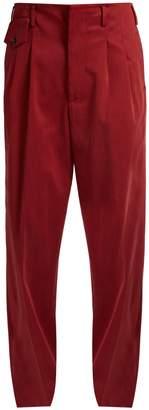 Golden Goose Sally wide-leg cotton-blend trousers