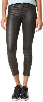 7 For All Mankind Faux Leather Skinny Pants $199 thestylecure.com