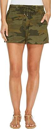 Splendid Women's Double Cloth Camo Short