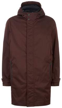 Ted Baker Stack Hooded Mac Coat