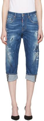 Dsquared2 Blue Kawaii Jeans $590 thestylecure.com