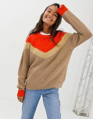 Blend She Vanes color block sweater