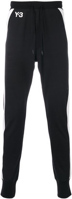 Y-3 side stripe track pants $200 thestylecure.com