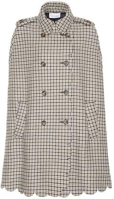 RED Valentino Checked tweed coat