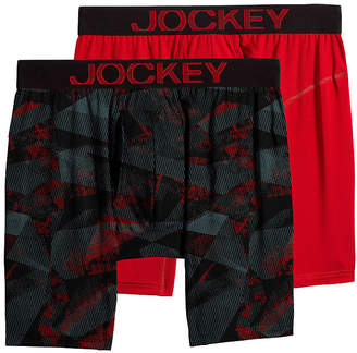 Jockey 2 Pair Athletic RapidCool Midways - Men's
