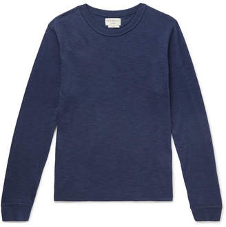 Oliver Spencer Loungewear Berwick Slub Cotton-Blend Sweater