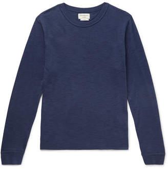 Oliver Spencer Loungewear Berwick Slub Cotton-Blend Sweater