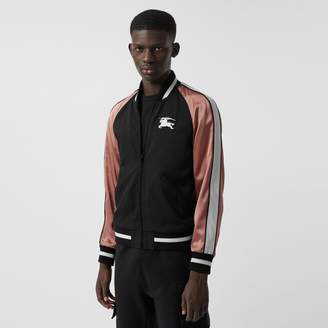 Burberry EKD Logo Nylon Varsity Jacket