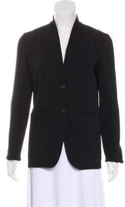 Gucci Knit-Trimmed Wool Jacket