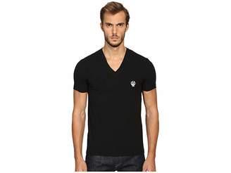 Dolce & Gabbana Sport Crest V-Neck T-Shirt