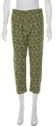 Marni Cropped High-Rise Pants
