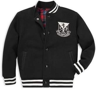 Ralph Lauren Boys' Vintage Fleece Biker Jacket - Little Kid