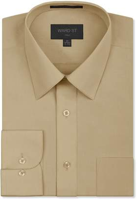 Ward St Men's Regular Fit Dress Shirts, 2XL, 18-18.5N 34/35S