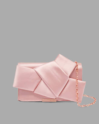 Ted Baker FEFEE Knot bow evening bag