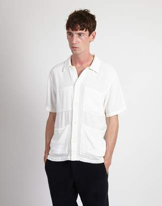 Nudie Jeans Svante Shirt Off White