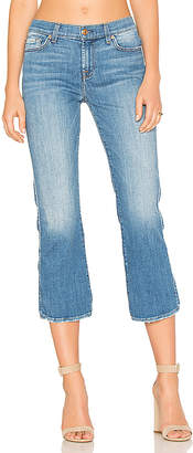 7 For All Mankind Cropped Boot in $199 thestylecure.com