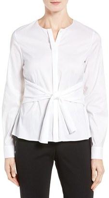 Women's Boss Binana Woven Blouse $215 thestylecure.com