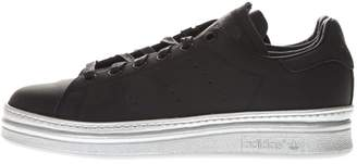 adidas Stan Smith New Bold Black Leather Sneakers