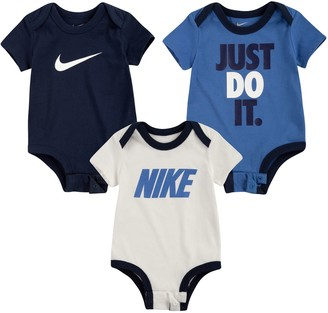 Nike Baby Boy 3-Pack Short Sleeve Bodysuits