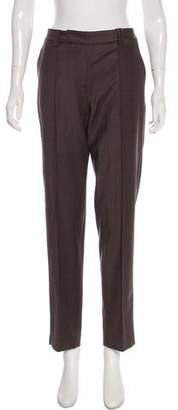 Halston Wool Mid-Rise Pants w/ Tags