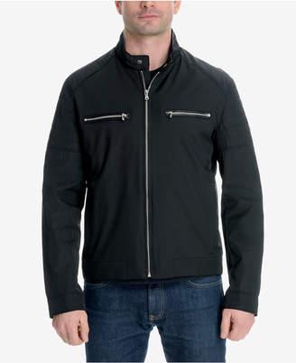 Michael Kors Men's Big and Tall Moto Jacket