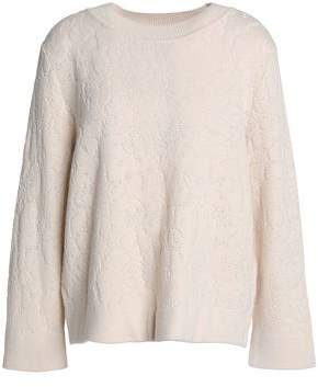 Claudie Pierlot Jacquard-Knit Sweater