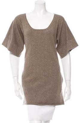 Chloé Cashmere Scoop Neck Tunic