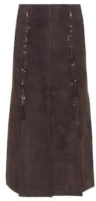 Chloé Suede skirt