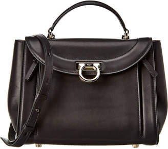 Salvatore Ferragamo Sofia Leather Shoulder Bag