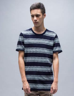 Denham Jeans Signature Stripe S/S T-Shirt