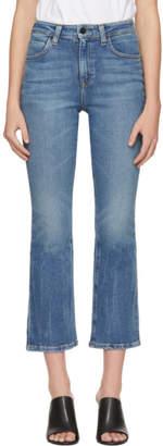 Alexander Wang Indigo Grind Flex Jeans