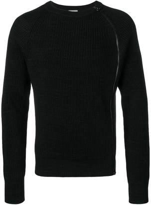 Lanvin side zip sweater