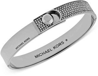 Michael Kors Pavé Foldover Bracelet $145 thestylecure.com