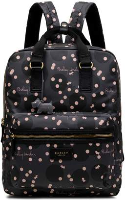 f84d87d54f5 Next Womens Radley London Grey Clouds Hill Large Zip Top Backpack Bag
