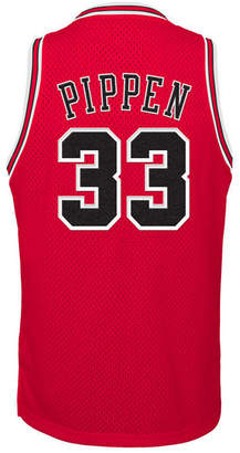 adidas Scottie Pippen Chicago Bulls Retired Player Swingman Jersey, Big Boys (8-20)