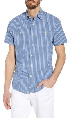 Grayers Larkin Stripe Sport Shirt