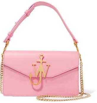 J.W.Anderson Logo Leather Shoulder Bag - Pink