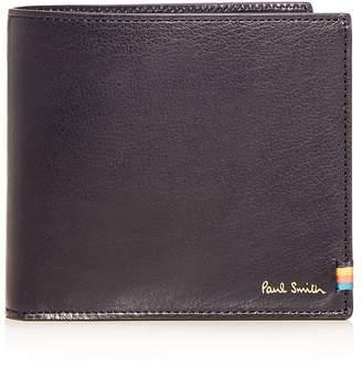 Paul Smith Stitch Tab Leather Bi-Fold Wallet