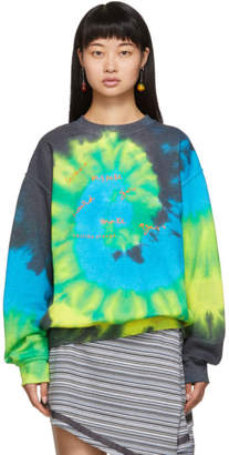 Collina Strada Multicolor Tie-Dye Mistake Sweatshirt