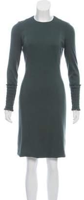 Akris Cashmere Mini Dress