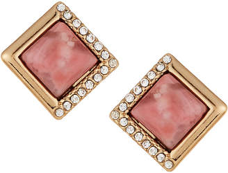 Lydell NYC Diamond-Shaped Stud Earrings