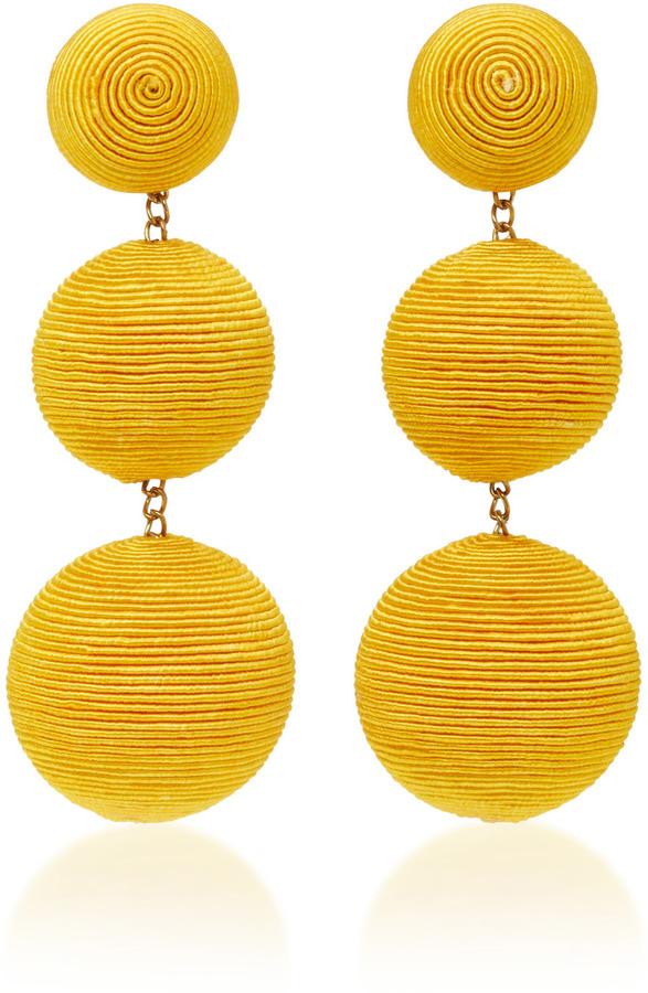 Rebecca de Ravenel Classic Silk Corded Clip Earrings 2